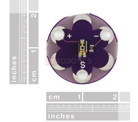 LilyPad Light Sensor | Lilypad Flora Gemma |