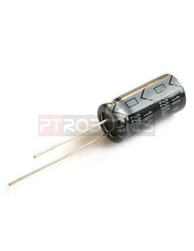Condensador Electrolitico 220uF 50V   Condensador Electroliticos  