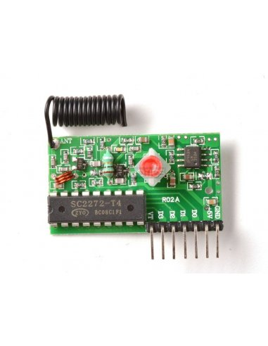 Simple RF M4 Receiver - 315MHz Momentary Type | 315Mhz e 433Mhz |