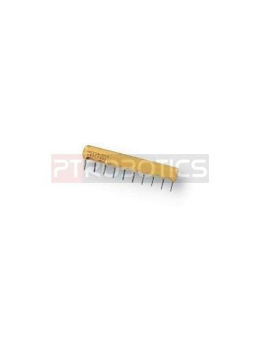 Resistor Network 100K 9Pin 125mW