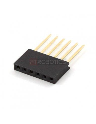 Conectores de 6 Pinos (Arduino Stackable Header)