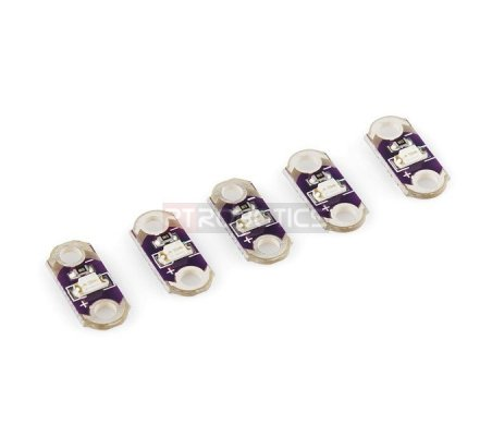 LilyPad LED Purple (5pcs)
