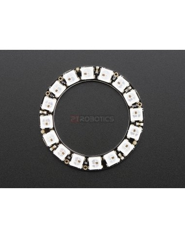 NeoPixel Ring - 16 x WS2812 5050 RGB LED with Integrated Drivers Adafruit