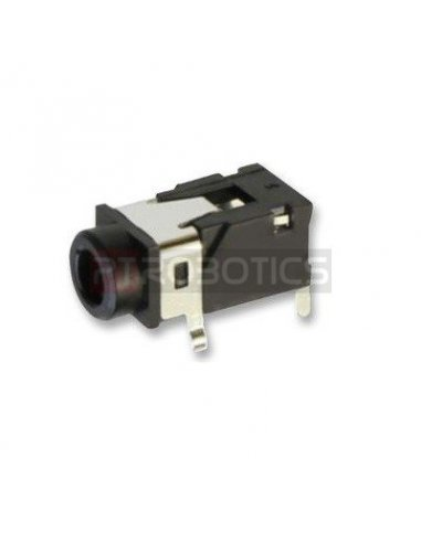 Plug 3.5mm PCB TRRS Female | Fichas Audio |