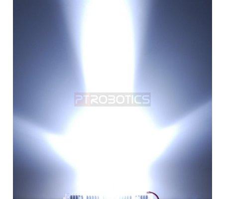 Kit Leds 5mm Pure Branco Bright PTRobotics