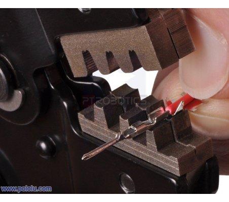 Crimping Tool: 0.08-0.5 mm² Capacity 20-28 AWG   Alicates para Eletronica   Pololu