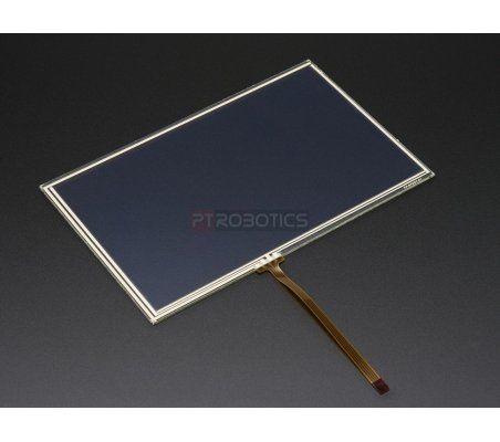 Resistive Touchscreen Overlay - 7 diag. 165mm x 105mm - 4 Wire | LCD Grafico | Adafruit