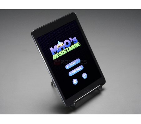 Adjustable Bent-Wire Stand - up to 7 Tablets and Small Screens | LCD Raspberry Pi |