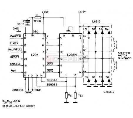 L297 - Stepper Motor Controller | Circuitos Integrados |