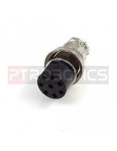 Multipin Circular MIC Connector - 8Pin Female