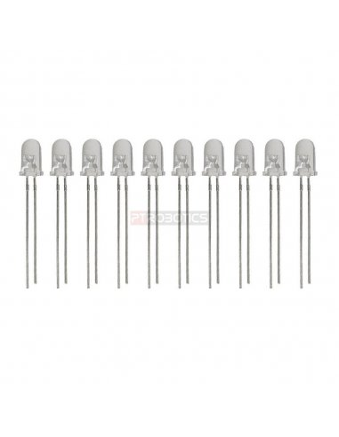 Kit Leds 3mm Azul Ultra Bright PTRobotics