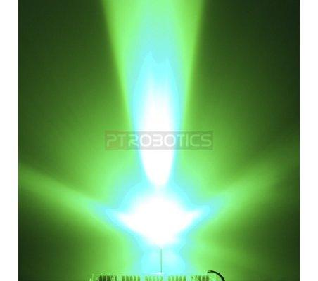Led 3mm Verde Ultra Bright | Led Alto Brilho |