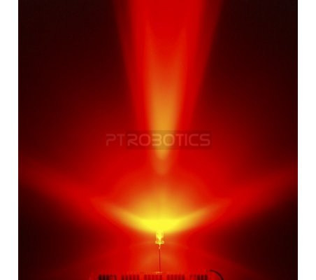 Led 3mm Vermelho Ultra Bright | Led Alto Brilho |