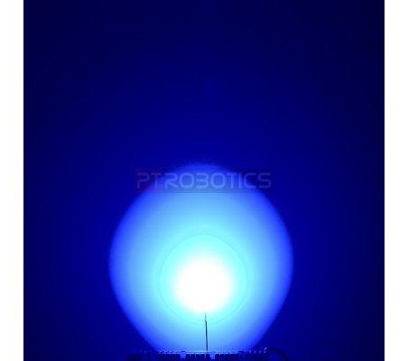 Diffused LED 10mm Blue   Led Standard  