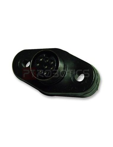 Mini DIN Socket 8Pin Chassis