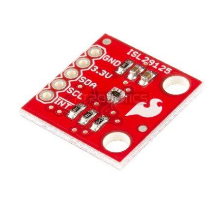 ISL29125 RGB Light Sensor  | Sensores Ópticos | Sparkfun