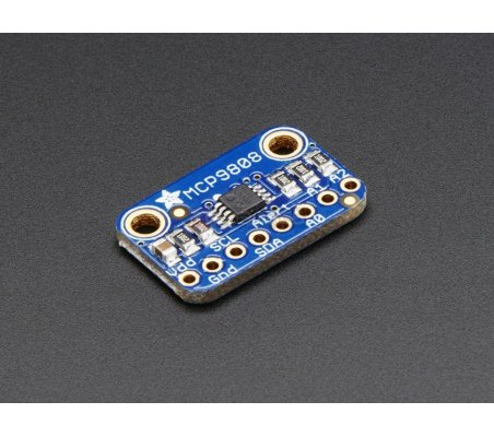 MCP9808 High Accuracy I2C Temperature Sensor Breakout Board | Sensores de Temperatura | Adafruit