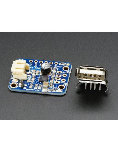 PowerBoost 500 Basic - 5V USB Boost @ 500mA from 1.8V+ Adafruit