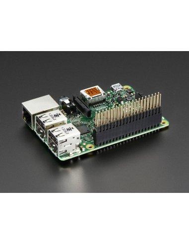 Stacking Header for Raspberry Pi B+ - 2x20 Extra Tall Header | Cabos e adaptadores | Adafruit