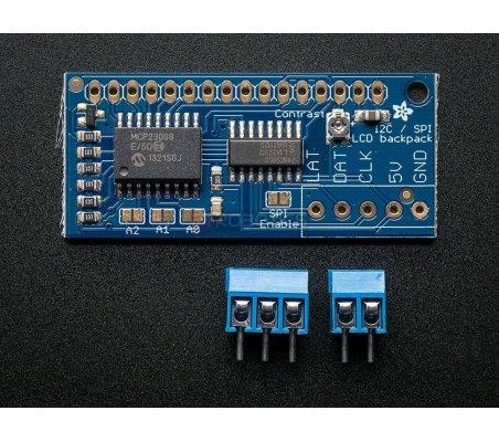 Adafruit I2C SPI LCD backpack | LCD Alfanumerico | Adafruit