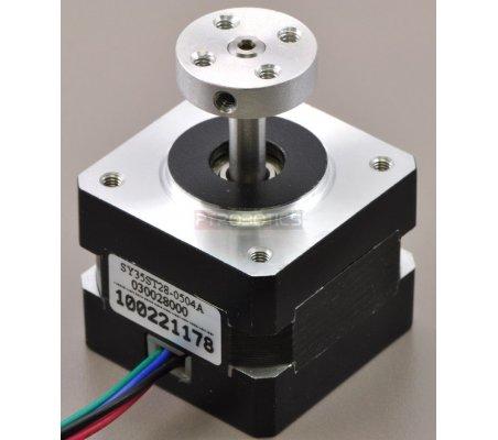 Pololu Universal Aluminum Mounting Hub for 5mm Shaft - M3 Holes | Hub's e Suportes | Pololu