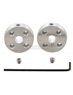 Pololu Universal Aluminum Mounting Hub for 5mm Shaft - M3 Holes