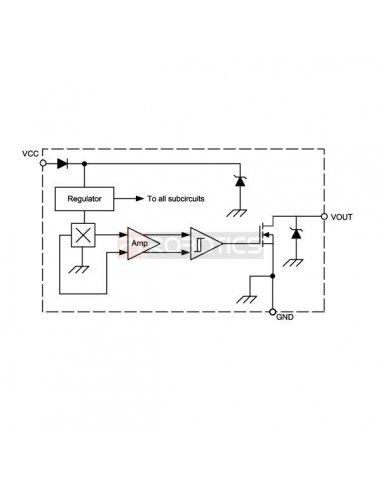 A1125 - Unipolar Hall Effect Switch   Sensor Hall  