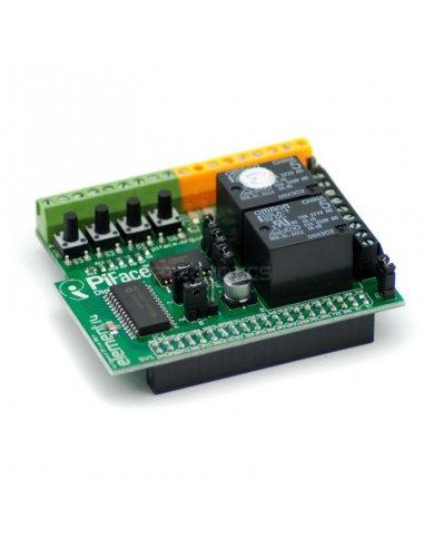 PiFace Digital 2 for Raspberry Pi B+ | HAT | Placas de Expansão Raspberry Pi |