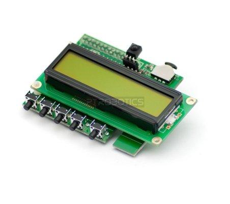 PiFace - Control and Display 2 for Raspberry B+ | HAT | Placas de Expansão Raspberry Pi |