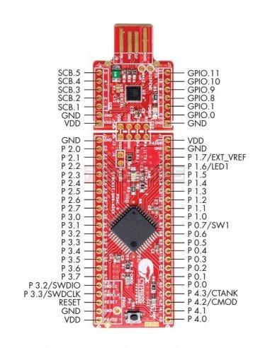 CY8CKIT-049-41XX PSoC 4 Prototyping Kit | Cypress - PSOC |