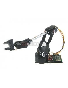 Lynxmotion AL5D 4 Degrees of Freedom Robotic Arm Combo Kit (no electronics)