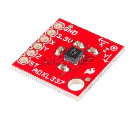 ADXL337 Breakout | Acelerómetros | Sparkfun
