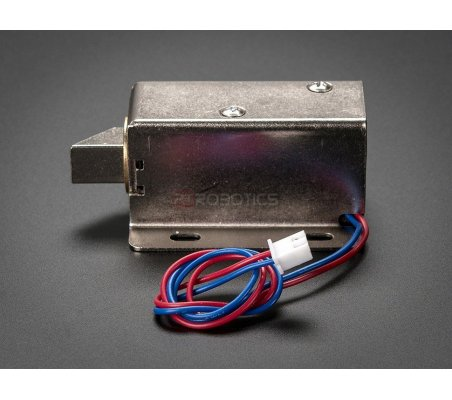 Lock-style Solenoid - 12VDC | Solenoides e Electroimans | Adafruit