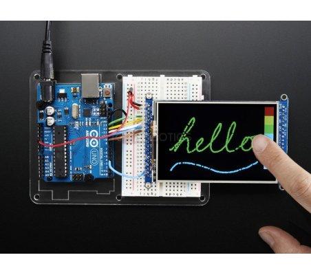 3.5 TFT 320x480 + Touchscreen Breakout Board with MicroSD Socket - HXD8357D | LCD Grafico | Adafruit