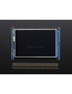 "3.5"" TFT 320x480 + Touchscreen Breakout Board with MicroSD Socket - HXD8357D"