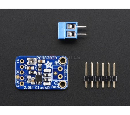 Mono 2.5W Class D Audio Amplifier - PAM8302 | Modulo de som | Adafruit