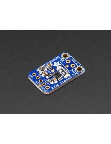 Mono 2.5W Class D Audio Amplifier - PAM8302 Adafruit