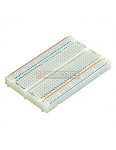 Breadboard 400 Points White