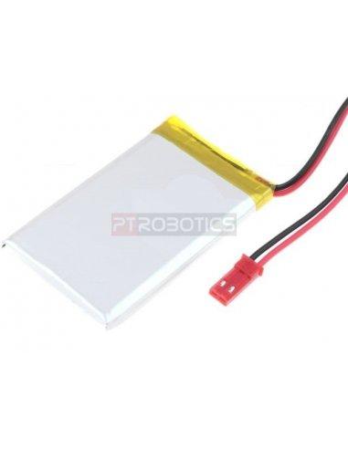 Polymer Lithium Ion Battery - 3.7v 550mAh Cellevia