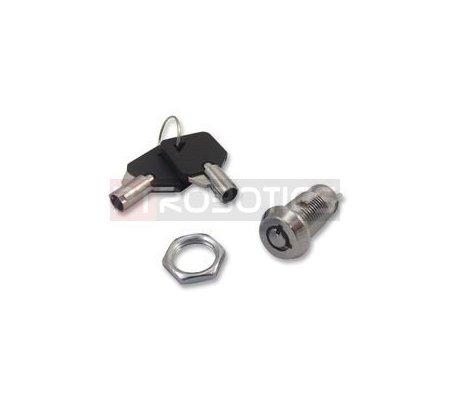 Key Switch SPST ON-OFF 250V 0.5A   Chave  