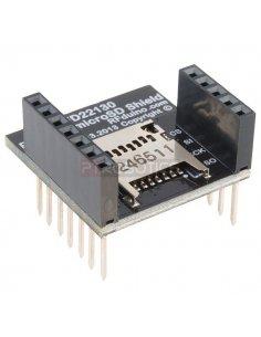 RFD22130 - RFduino - MicroSD Shield