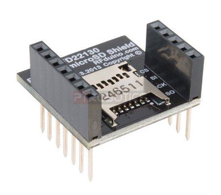 RFD22130 - RFduino - MicroSD Shield   RFDuino   RFDuino
