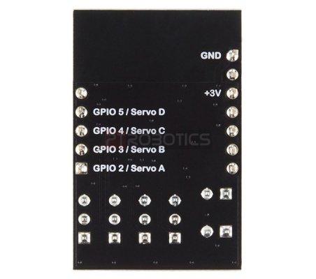 RFD22123 - RFduino - Servo Shield | RFDuino | RFDuino