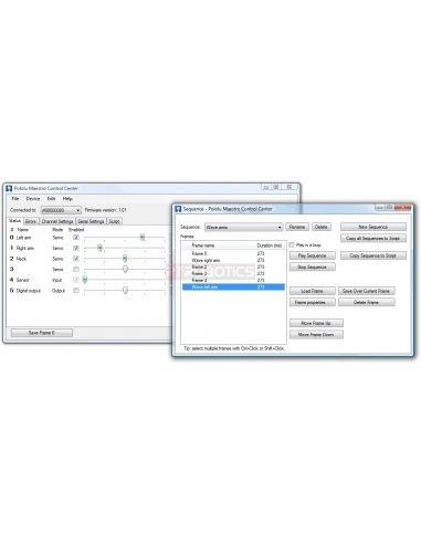 Mini Maestro 24-Channel USB Servo Controller Kit