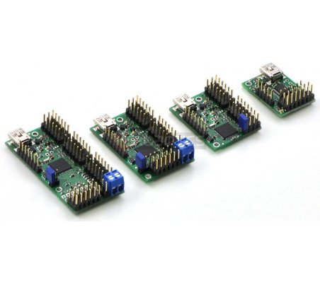 Mini Maestro 18-Channel USB Servo Controller Kit Pololu