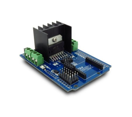 MotoMama - L298 Arduino Shield | Motores Arduino | Itead