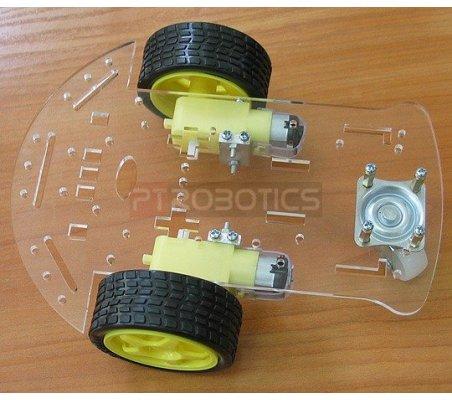 3 Wheel Robot Kit