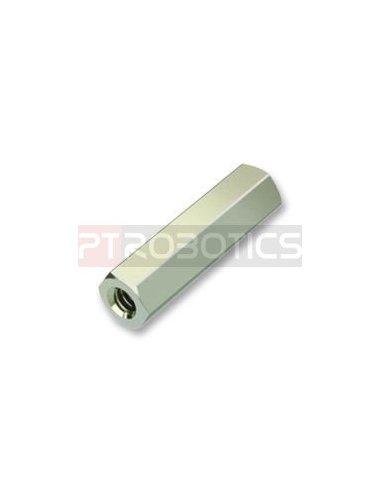 Espaçador Hexagonal M2.5 10mm F/F   Parafusos  