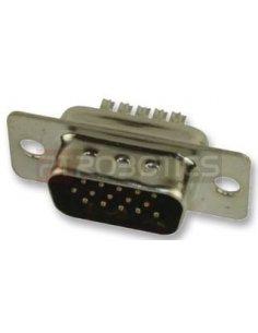 D-Sub 15 Pin Connector VGA Male