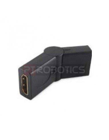 HDMI Female-Female +90/-90°   Cabos e adaptadores  